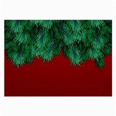 Xmas Tree Large Glasses Cloth (2 Side)