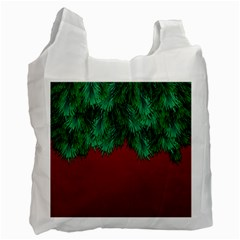 Xmas Tree Recycle Bag (two Side)