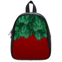 Xmas Tree School Bag (small)