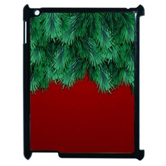 Xmas Tree Apple Ipad 2 Case (black)