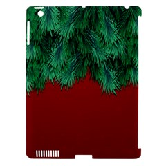 Xmas Tree Apple Ipad 3/4 Hardshell Case (compatible With Smart Cover)