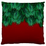 Xmas Tree Large Cushion Case (Two Sides) Front