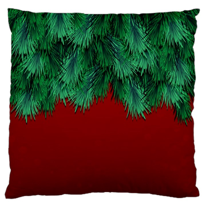 Xmas Tree Large Cushion Case (Two Sides)