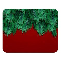 Xmas Tree Double Sided Flano Blanket (large)
