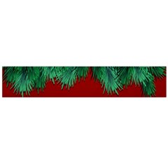 Xmas Tree Large Flano Scarf