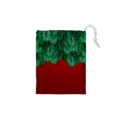 Xmas Tree Drawstring Pouches (xs)