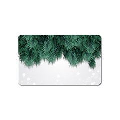Snow And Tree Magnet (name Card)