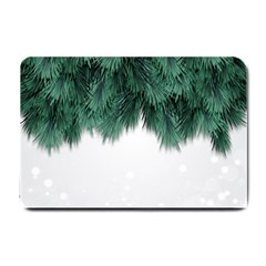 Snow And Tree Small Doormat