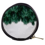 Snow And Tree Mini Makeup Bags Front