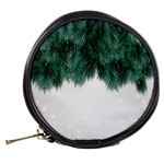 Snow And Tree Mini Makeup Bags Back