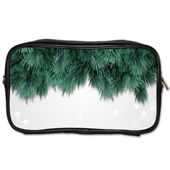 Snow And Tree Toiletries Bags