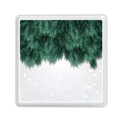 Snow And Tree Memory Card Reader (square)