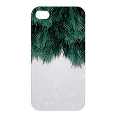 Snow And Tree Apple Iphone 4/4s Hardshell Case