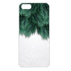 Snow And Tree Apple Iphone 5 Seamless Case (white)