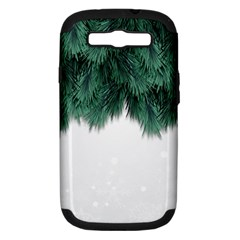 Snow And Tree Samsung Galaxy S Iii Hardshell Case (pc+silicone)
