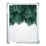Snow And Tree Apple iPad 3/4 Case (White) Front
