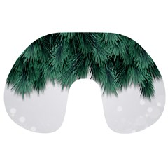 Snow And Tree Travel Neck Pillows