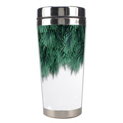 Snow And Tree Stainless Steel Travel Tumblers