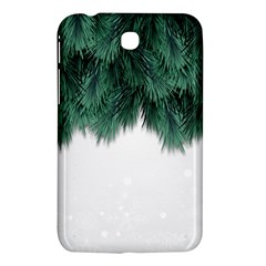 Snow And Tree Samsung Galaxy Tab 3 (7 ) P3200 Hardshell Case