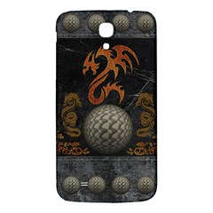Awesome Tribal Dragon Made Of Metal Samsung Galaxy Mega I9200 Hardshell Back Case