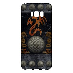 Awesome Tribal Dragon Made Of Metal Samsung Galaxy S8 Plus Hardshell Case