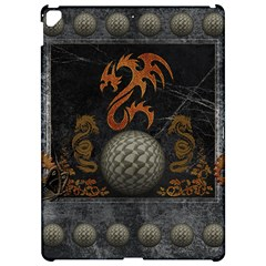 Awesome Tribal Dragon Made Of Metal Apple Ipad Pro 12 9   Hardshell Case