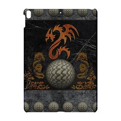 Awesome Tribal Dragon Made Of Metal Apple Ipad Pro 10 5   Hardshell Case