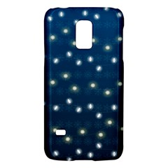 Christmas Light Blue Galaxy S5 Mini