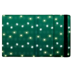 Christmas Light Green Apple Ipad 2 Flip Case