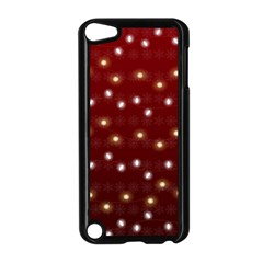 Christmas Light Red Apple Ipod Touch 5 Case (black)