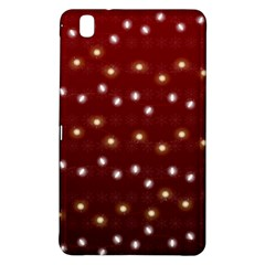 Christmas Light Red Samsung Galaxy Tab Pro 8 4 Hardshell Case