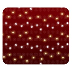 Christmas Light Red Double Sided Flano Blanket (small)