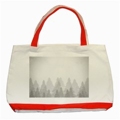 Winter Land Light Classic Tote Bag (red)