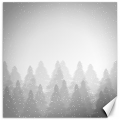 Winter Land Light Canvas 16  X 16