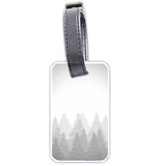 Winter Land Light Luggage Tags (one Side)