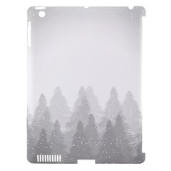 Winter Land Light Apple Ipad 3/4 Hardshell Case (compatible With Smart Cover)