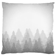 Winter Land Light Large Cushion Case (one Side)