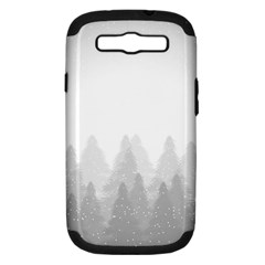 Winter Land Light Samsung Galaxy S Iii Hardshell Case (pc+silicone)