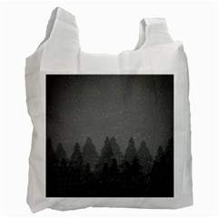 Winter Land Dark Recycle Bag (two Side)