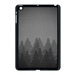 Winter Land Dark Apple Ipad Mini Case (black)