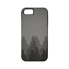 Winter Land Dark Apple Iphone 5 Classic Hardshell Case (pc+silicone)