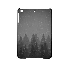 Winter Land Dark Ipad Mini 2 Hardshell Cases