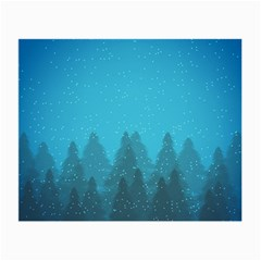 Winter Land Blue Small Glasses Cloth (2 Side)