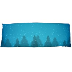 Winter Land Blue Body Pillow Case (dakimakura)