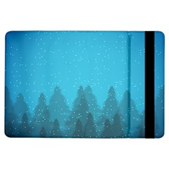 Winter Land Blue Ipad Air Flip