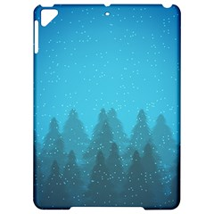 Winter Land Blue Apple Ipad Pro 9 7   Hardshell Case