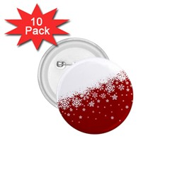 Xmas Snow 01 1 75  Buttons (10 Pack)
