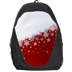 Xmas Snow 01 Backpack Bag