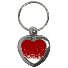 Xmas Snow 02 Key Chains (heart)