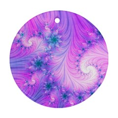 Delicate Round Ornament (two Sides)